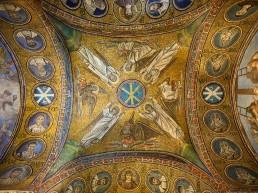 domes, mosaic, Ravenna, byzantine architecture